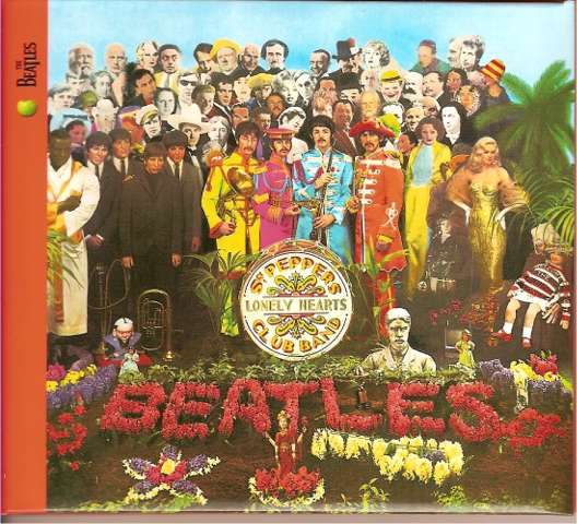 The Beatles Sgt Pepper's lonely heart band