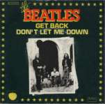 Beatles_45 tours_Get back et Don't let me down