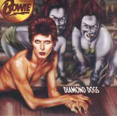 David Bowie Diamond dogs 1974