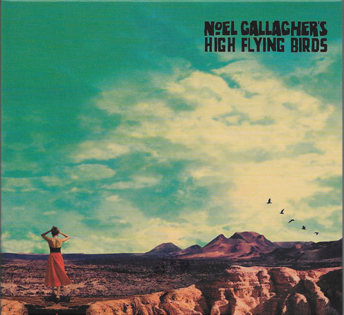 Noel Gallagher High flying birds Who built the moon cover