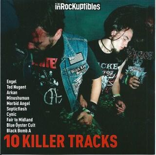 Compilation Les Inrockuptibles 2 - 10 killer tracks