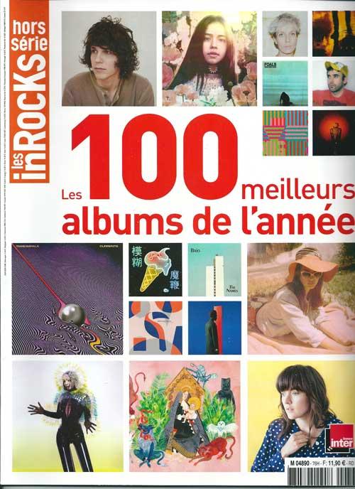 Les inrocks hors série les 100 meilleurs albums de l'année