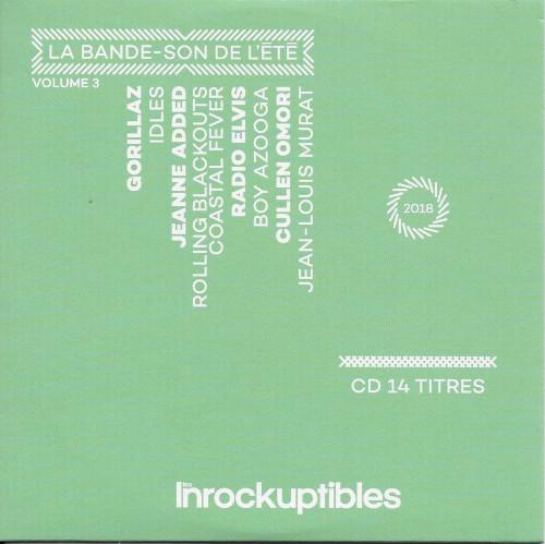 Compilation Les Inrockuptibles La bande son de ete volume 3 cover