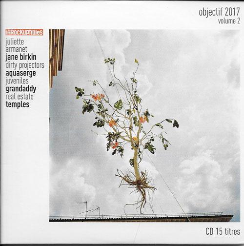 compilation Les Inrockuptibles Objectif 2017 volume 2