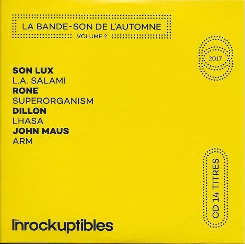 Les Inrockuptibles La bande son de l'automne Volume 2 cover