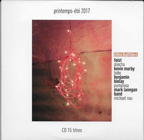 compilation Les Inrockuptibles Printemps Eté 2017
