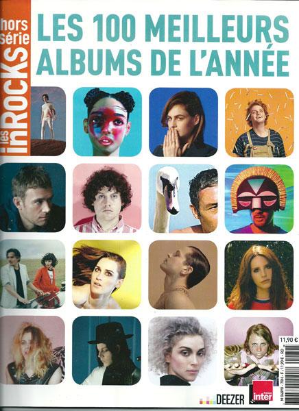Les Inrocks les 100 meilleurs albums de 2014
