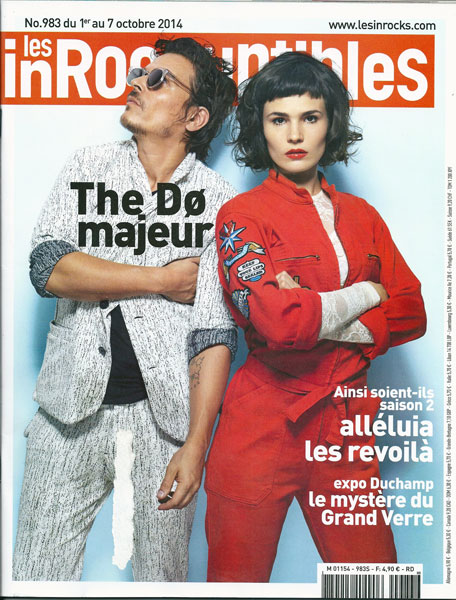 Les Inrocks 983 Octobre 2014 The Do