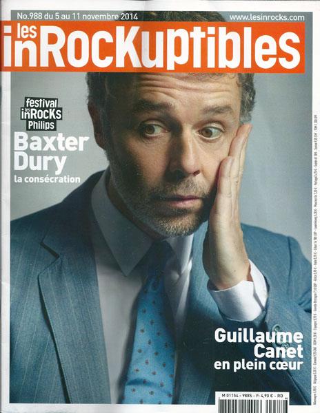 Les Inrocks 988 Novembre 2014 Baxter Dury
