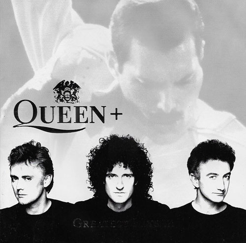 Queen + Greatest hits III cover