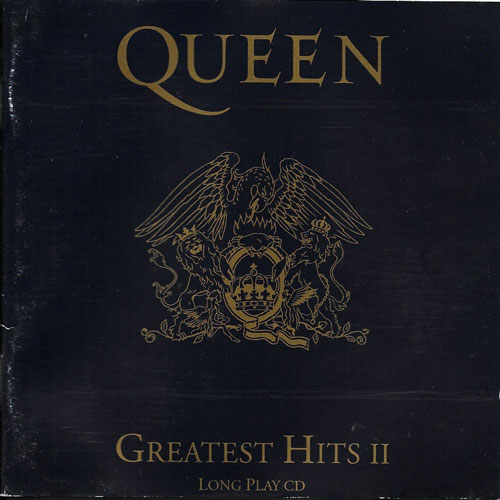Queen Greatest hits II cover