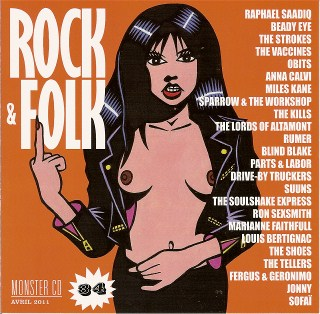 Compilation Rock & Folk Monster CD n°34