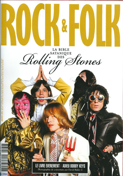 Rock & Folk n° 569 - Janvier 2015 - The Rolling Stones