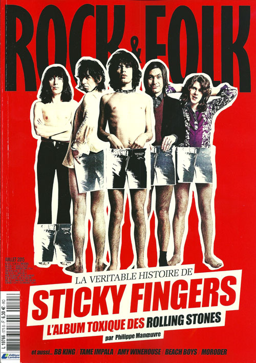 Rock & Folk 575 The Rolling Stones