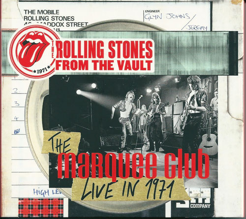 The Rolling Stones The Marquee Club live in 1971