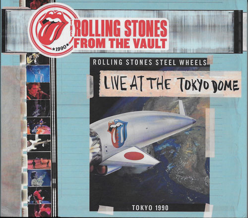 The Rolling Stones Live at The Tokyo Dome cover