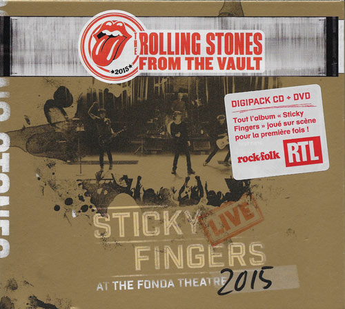 The Rolling Stones Sticky fingers live cover