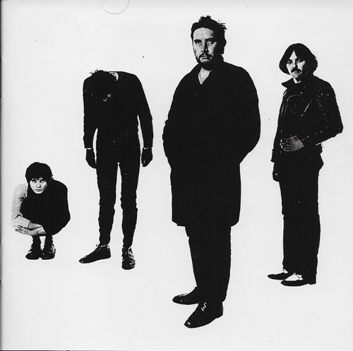 The Stranglers Black and white cover