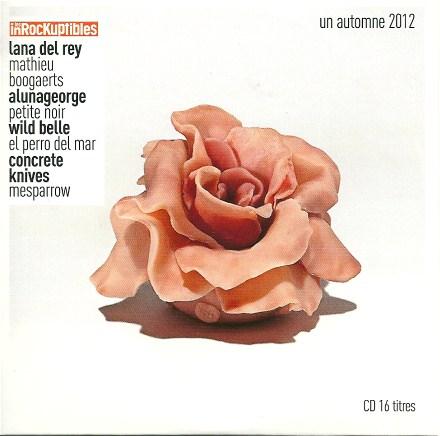 Compilation les Inrockuptibles Un automne 2012
