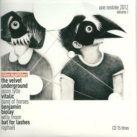 Compilation Les inrockuptibles Une rentrée 2012 Volume 2