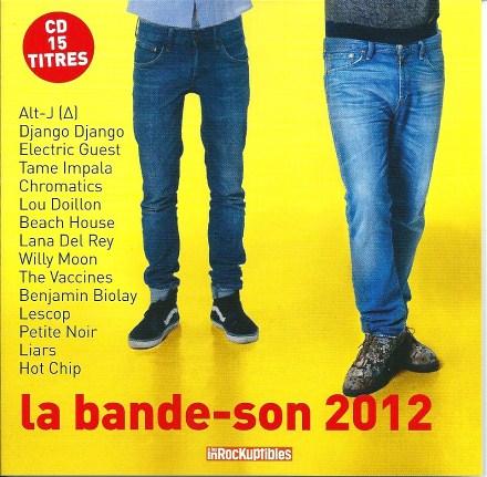 Compilation Les Inrockuptibles La Bande-son 2012