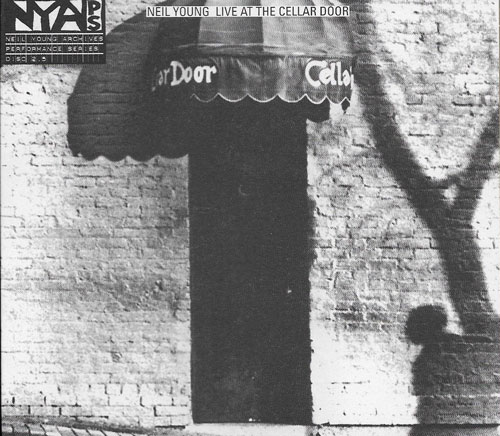 Neil Young Live at the Cellar Door cover
