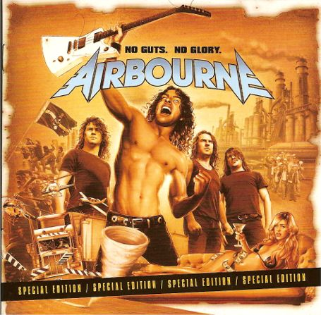 Airbourne No guts , no glory
