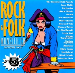 compilation Rock & Folk Monster CD 5