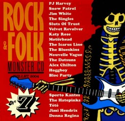 Compilation Rock & Folk Monster CD n°7