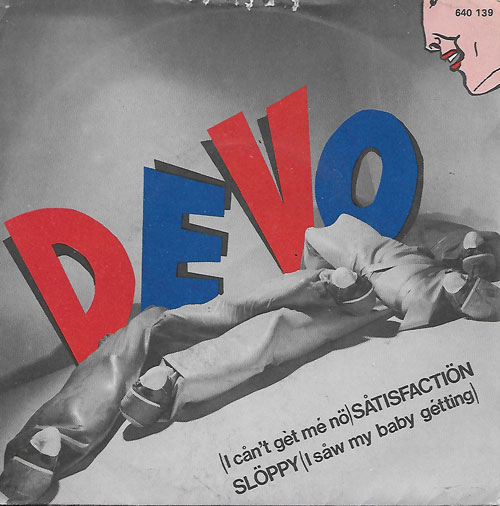 Devo I can't get me no Satisfaction cover