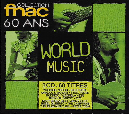 Compilation Fnac 60 ans World music cover