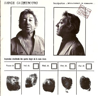 Serge Gainsbourg You're under arrest