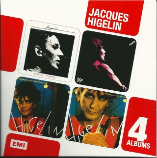 Jacques Higelin - 4 albums
