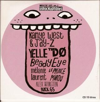 Compilation Les Inrocks Objectif 2011 Volume 2