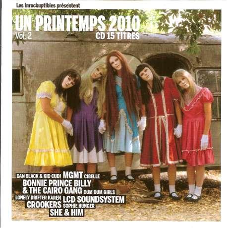 Les Inrocks Un printemps 2010 volume 2