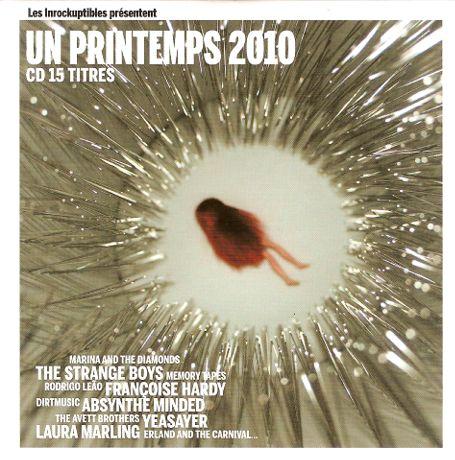 Compilaion Les Inrocks Un printemps 2010