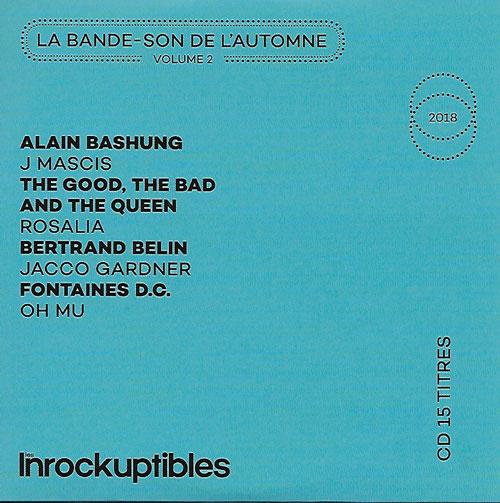 Compilation Les Inrockuptibles La Bande-son de l'automne Volume 2 cover