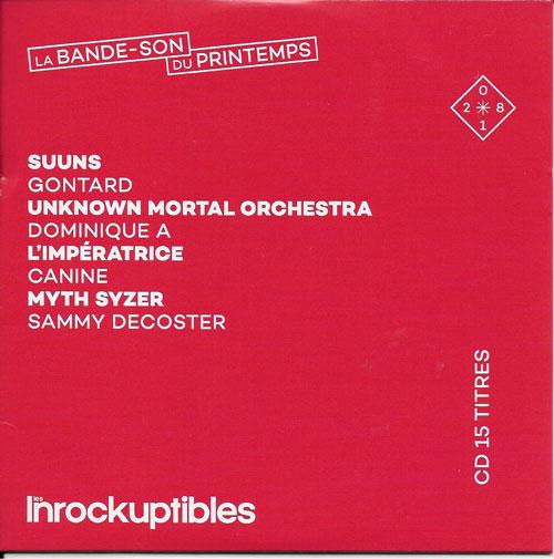 compilation Les Inrockuptibles La bande-son du printemps cover