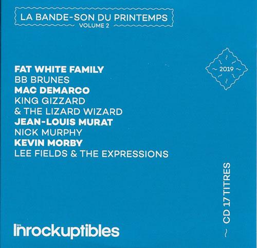 compilation Les Inrockuptibles La bande-son du printemps volume 2 cover
