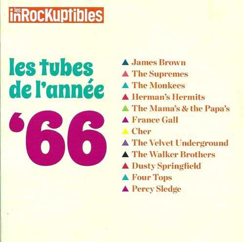 Compilation Les Inrockuptibles - Les tubes de l'année 66