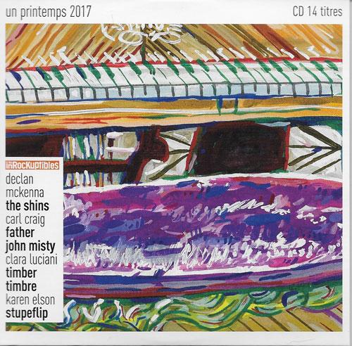 compilation Les Inrockuptibles un printemps 2017