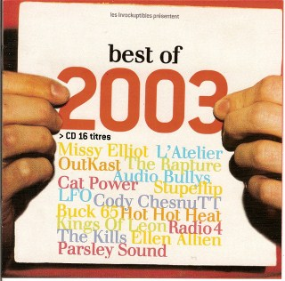 compilation les inrockuptibles best of 2003