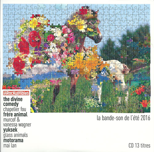 Compilation les Inrockuptibles La Bande-son de l'été 2016