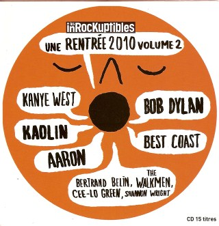 Les Inrocks Une rentrée 2010 volume 2