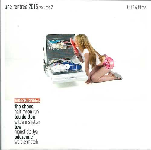 Compilation Les Inrockuptibles Une rentrée 2015 volume 2
