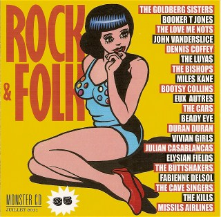 Compilation Rock & Folk Monster Cd 35