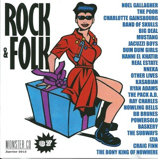 compilation Rock & Folk Monster CD n°37