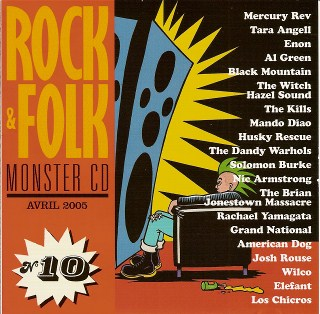 compilation rock & folk monster CD 10