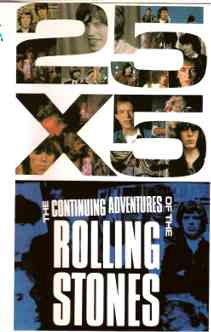 The rolling stones 25 x 5