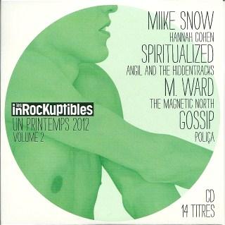 Compilation Les Inrocks Un printemps 2012 Volume 2